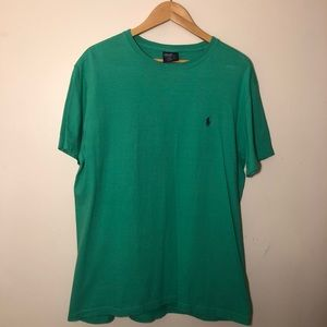 Polo Ralph Lauren Men's (M) Green T-Shirt